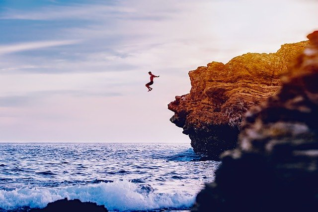 """""""Life Is Too Deep Not to Dive"""""""